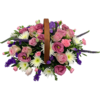 Funeral Basket in Pink