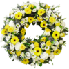 Loose Wreath in Yellow